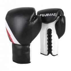 LACE-UP BOXING GLOVES. LEATHER