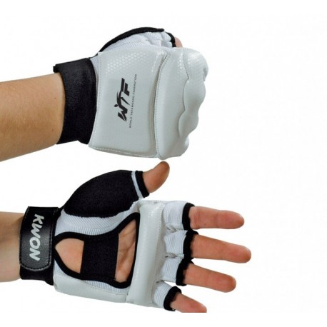 Hand protector TKD WTF white