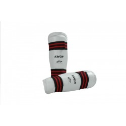 WTF Shin guard Evolution white Kwon
