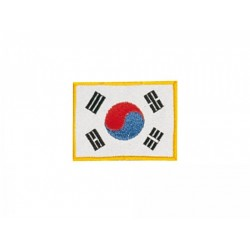 Sewn Badges Korean flag Kwon
