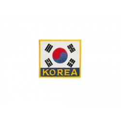 Flag with lettering Kwon