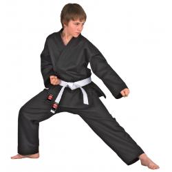 Dojo Line Karate Gi black Danrho