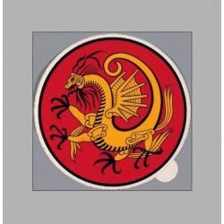 Autocollants PVC Motif de Dragon Danrho