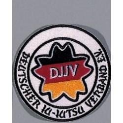 Insignes Brodes Association Allemande de Ju-jutsu Danrho
