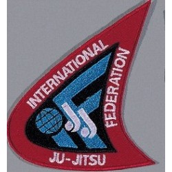 Embroidered Emblem International Ju-Jutsu Federation