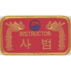 Insignes Brodes Instructor Danrho