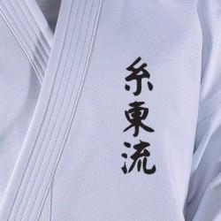 Embroidering Shito Ryu, black Danrho