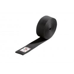 Budo belt in black cotton Danrho