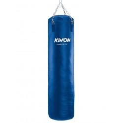 Sac de sable bleu, 150 cm, rempli Kwon