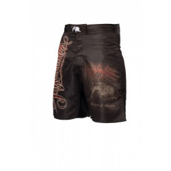 Fightnature Shorts black with lettering