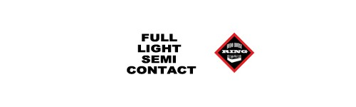 Full / Light Contact/Semi Contact/Point Fighting
